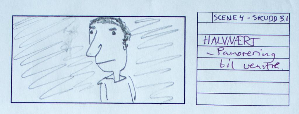 Rute i storyboard. Illustrasjon.