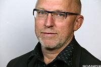 Portrett av Sven Egil Omdal. Fotografi.