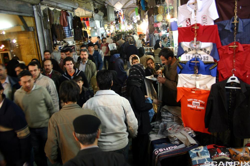 Bazaar in Tehran