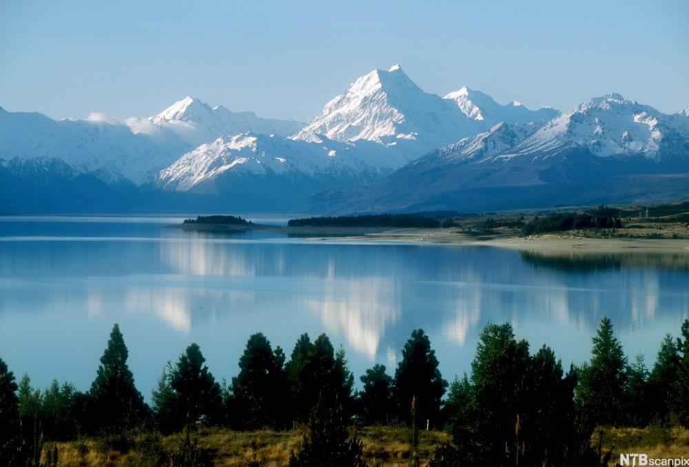 Mt. Cook, New Zealand. Foto.