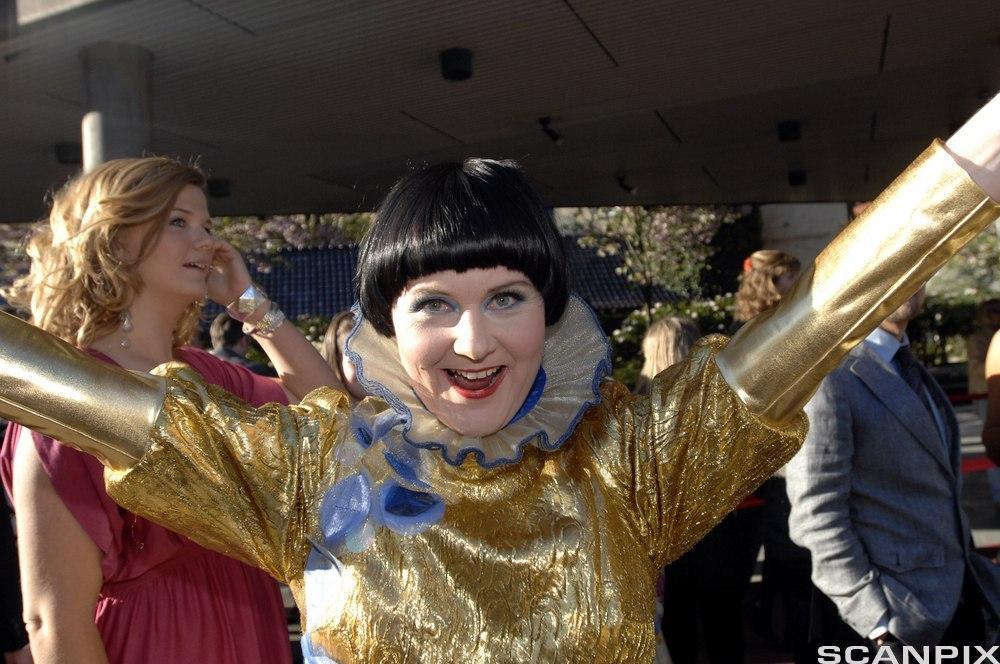 Komikeren Christine Koht. Foto.