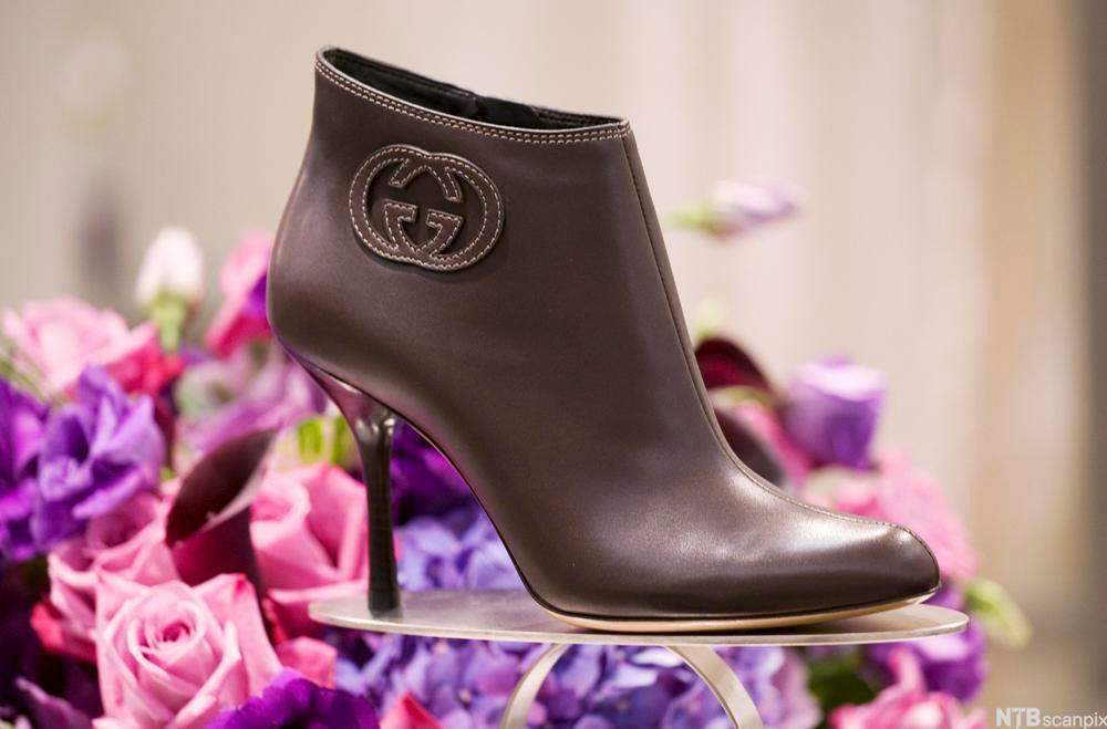 Bilde av en sko fra Gucci.