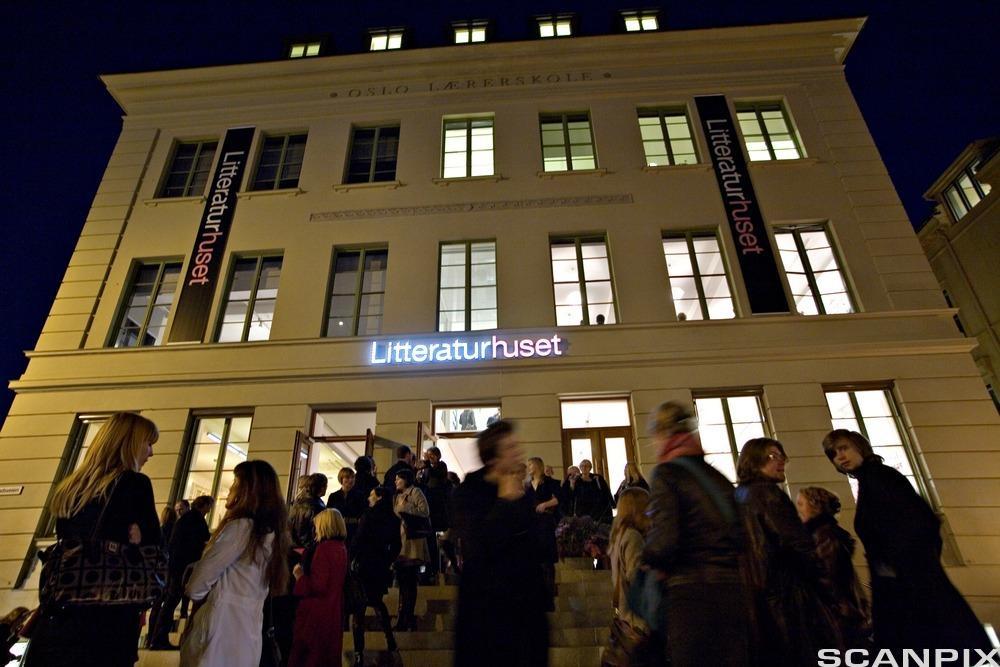 Litteraturhuset. Foto.