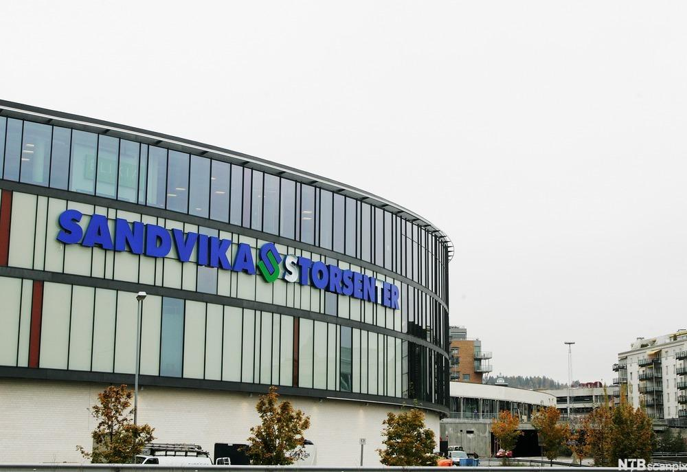 Sandvika Storsenter, fasade. Foto.