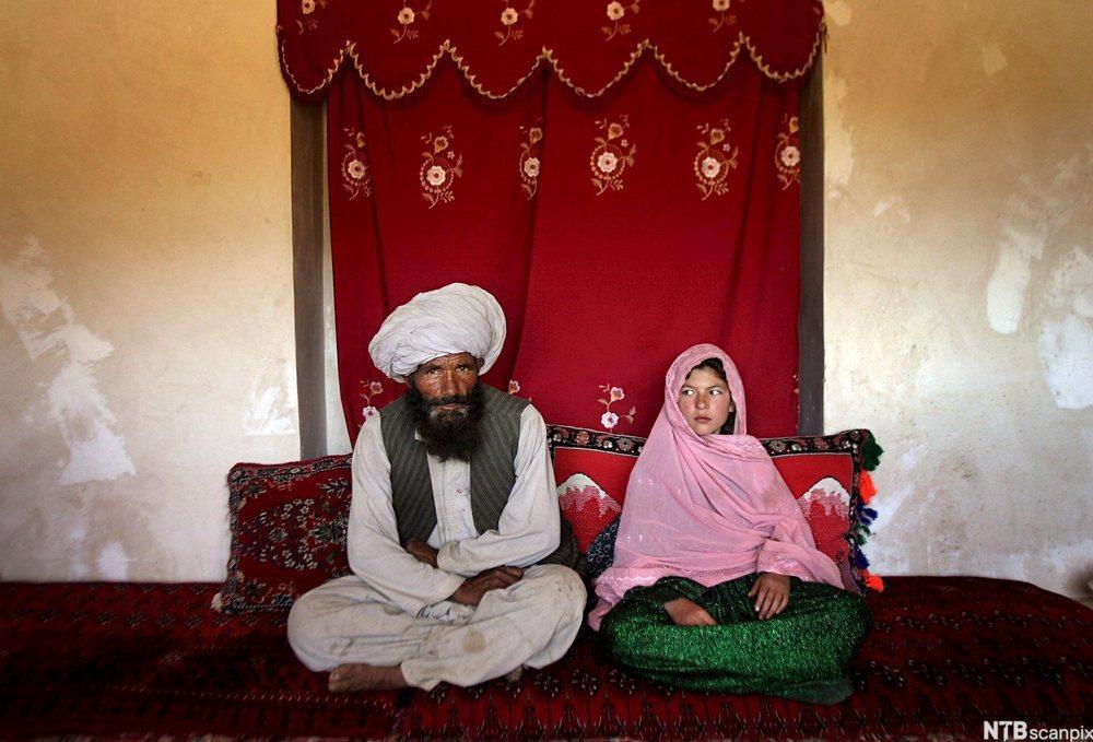 Arrangert ekteskap (Kåret til årets bilde av UNICEF i 2007)