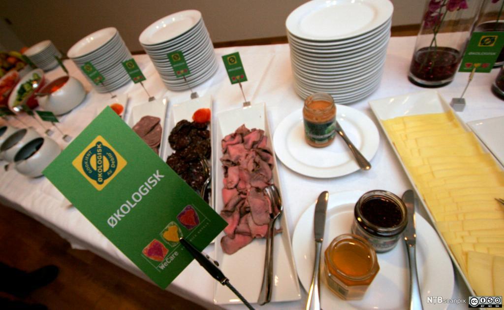 Bilde som illustrerer at Choice Hotels tilbyr økologisk frokost.