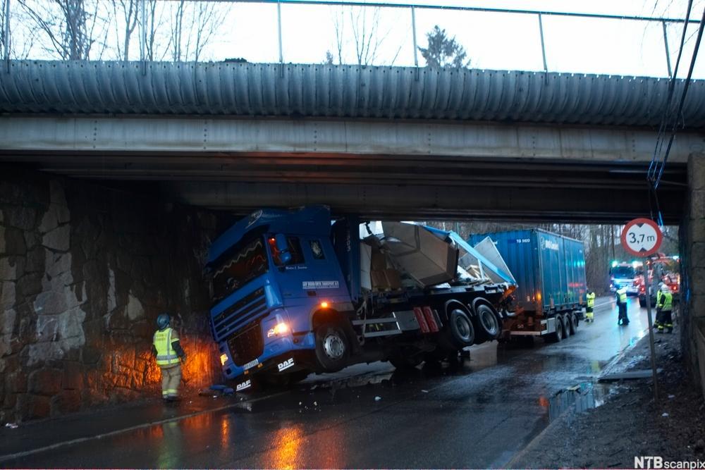 Vogntog i ulykke