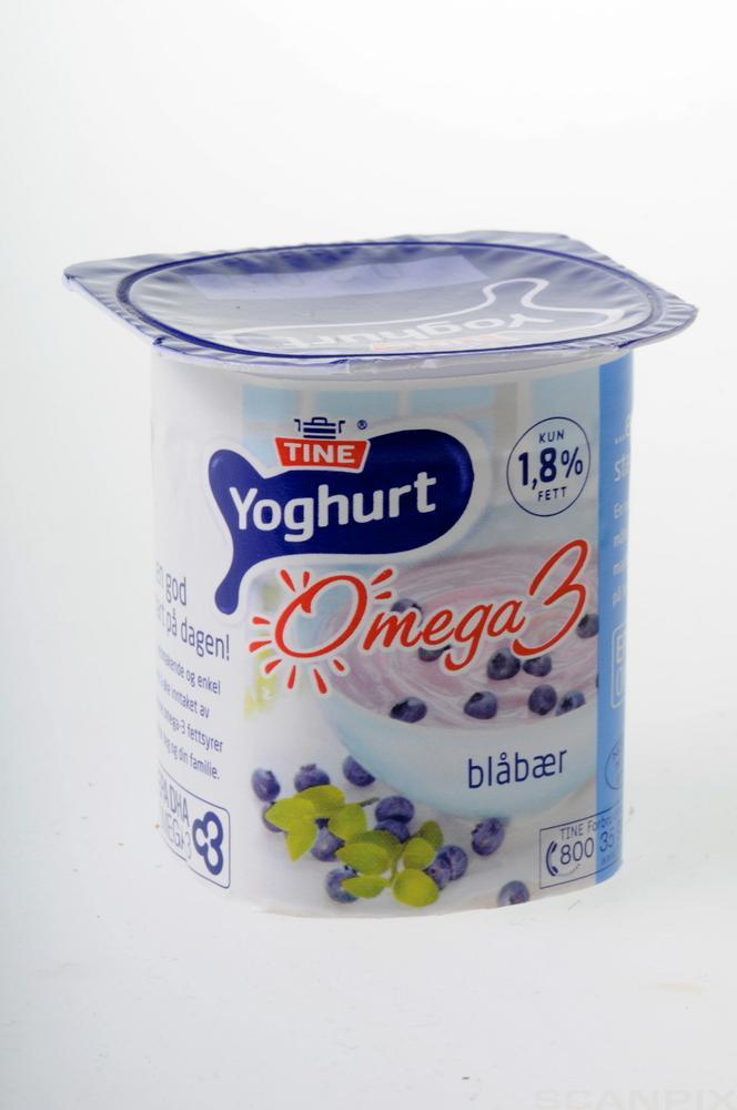 Et beger med yoghurt. Foto.