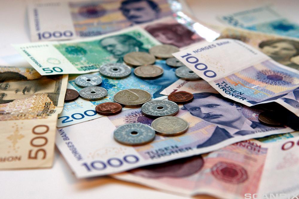 Penger. Foto.
