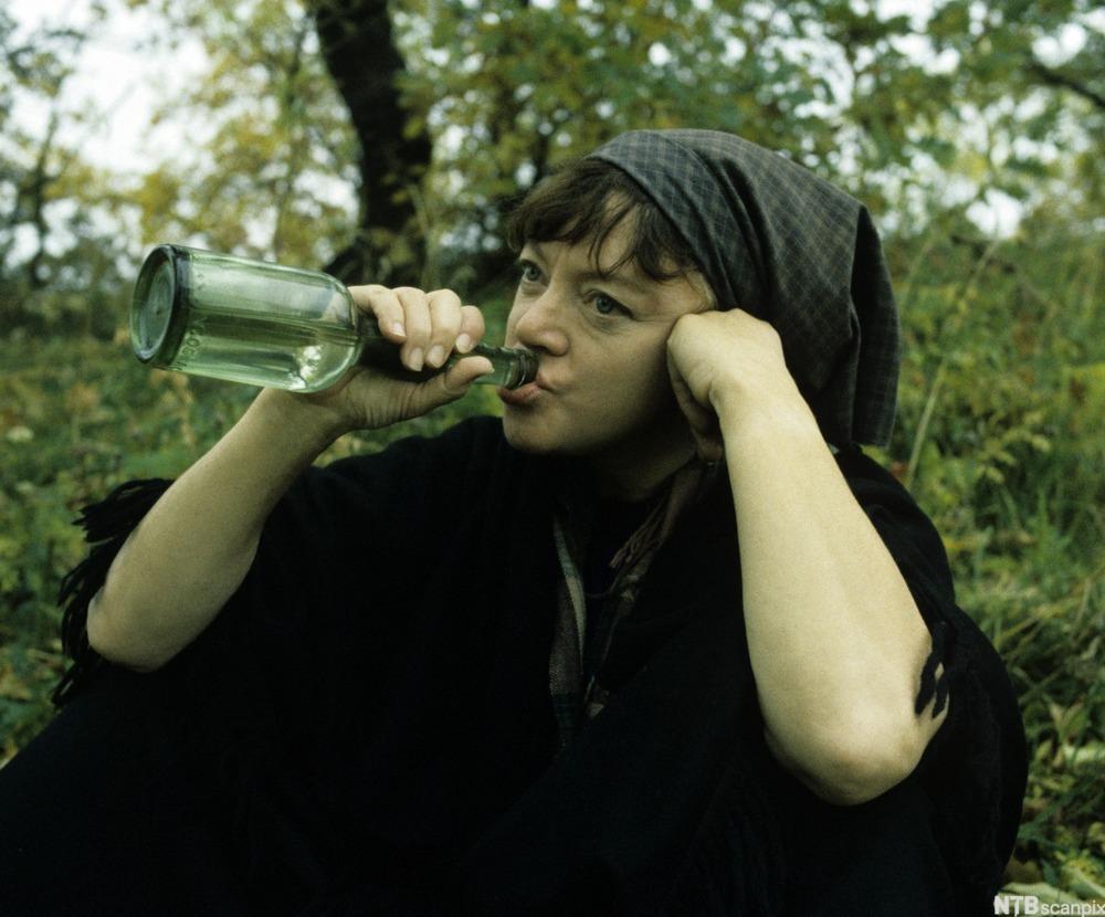 Oline fra sagaen om Hellemyrsfolket. Foto.