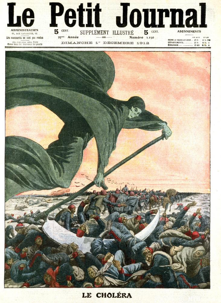 Illustrasjon: kolera