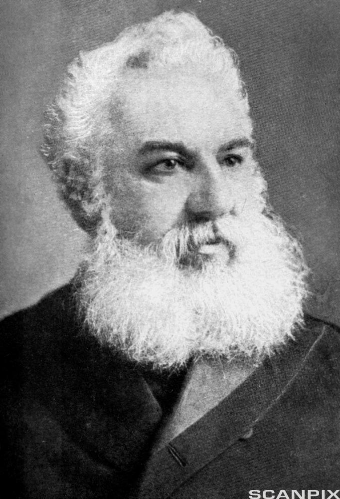 Alexander Graham Bell. Foto.