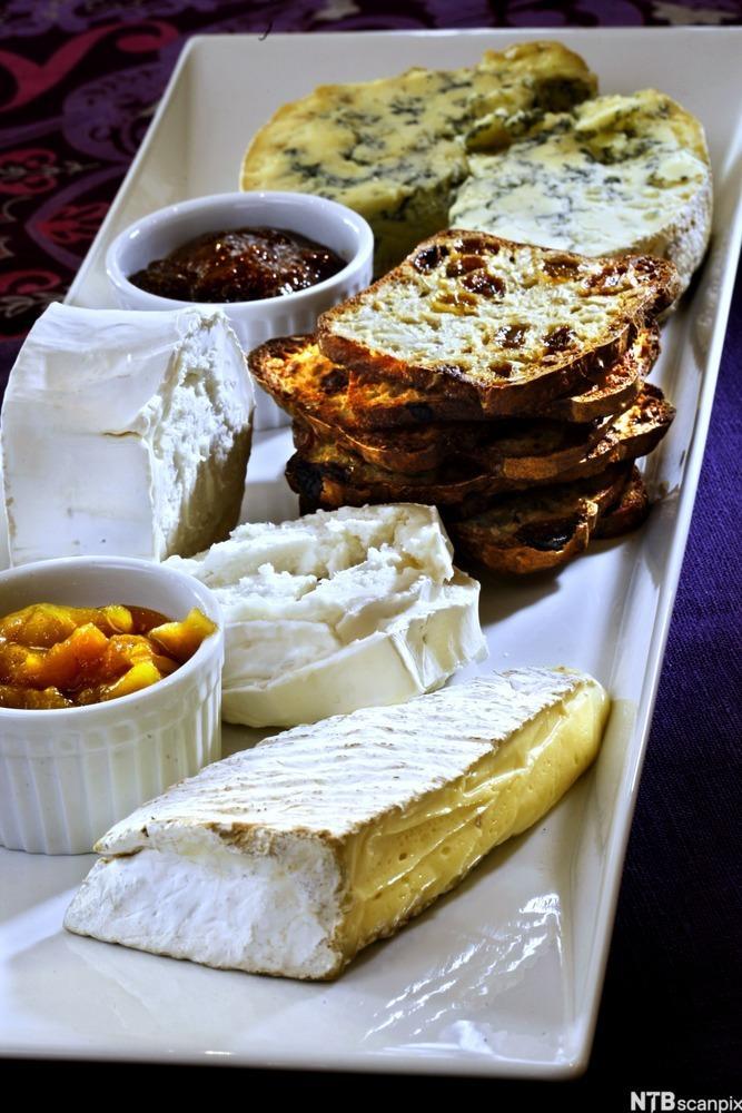 Bilde av ostefat