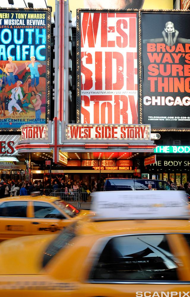 West Side Story opening night on Broadway, 2009