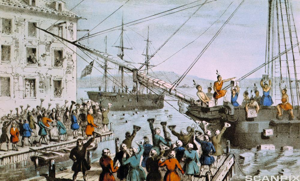 What is The Boston Tea Party?