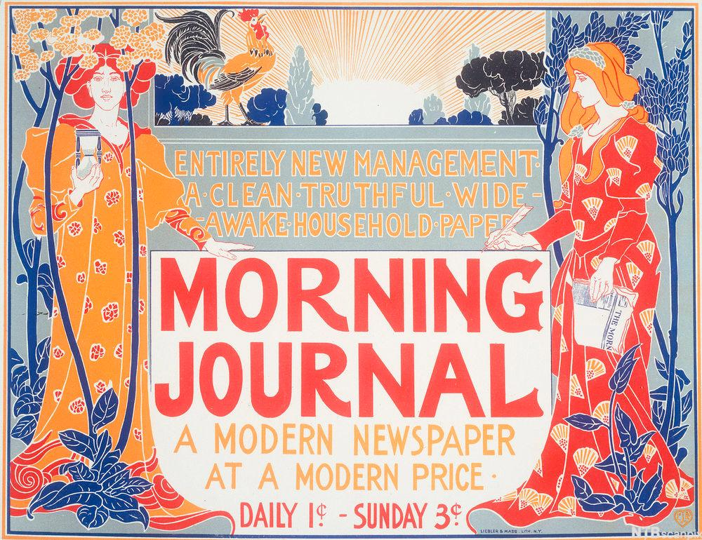 "Plakat ""Morning Journal"""