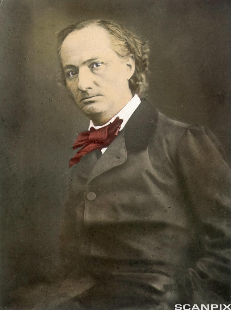 Portrett av forfattaren Charles Baudelaire