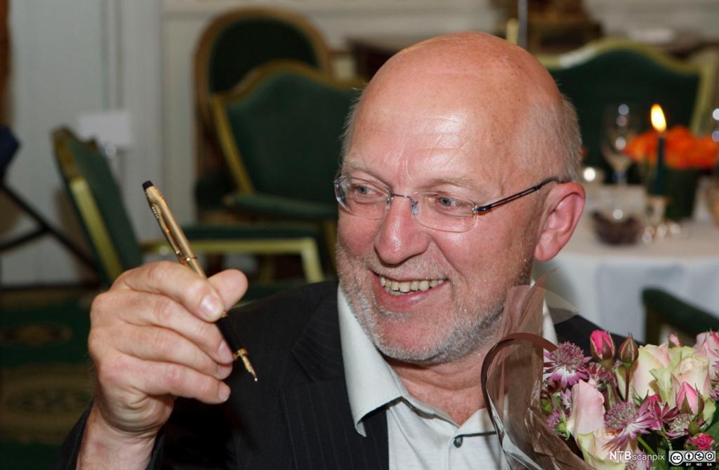 Sven Egil Omdal med gullpennen