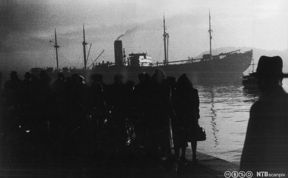 Det tyske skipet Donau