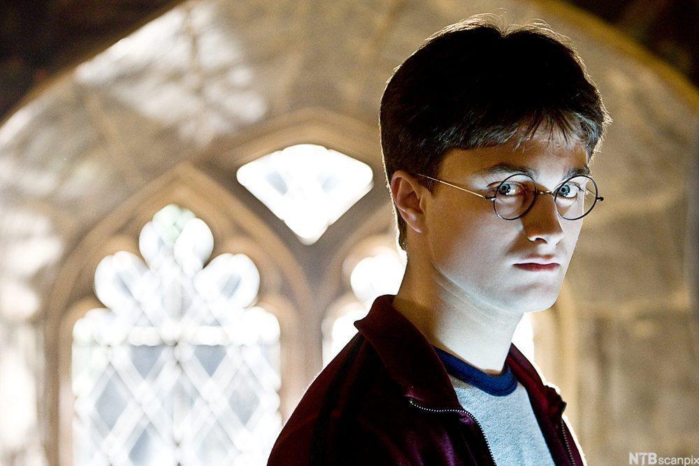 Daniel Radcliffe som Harry Potter. Foto.