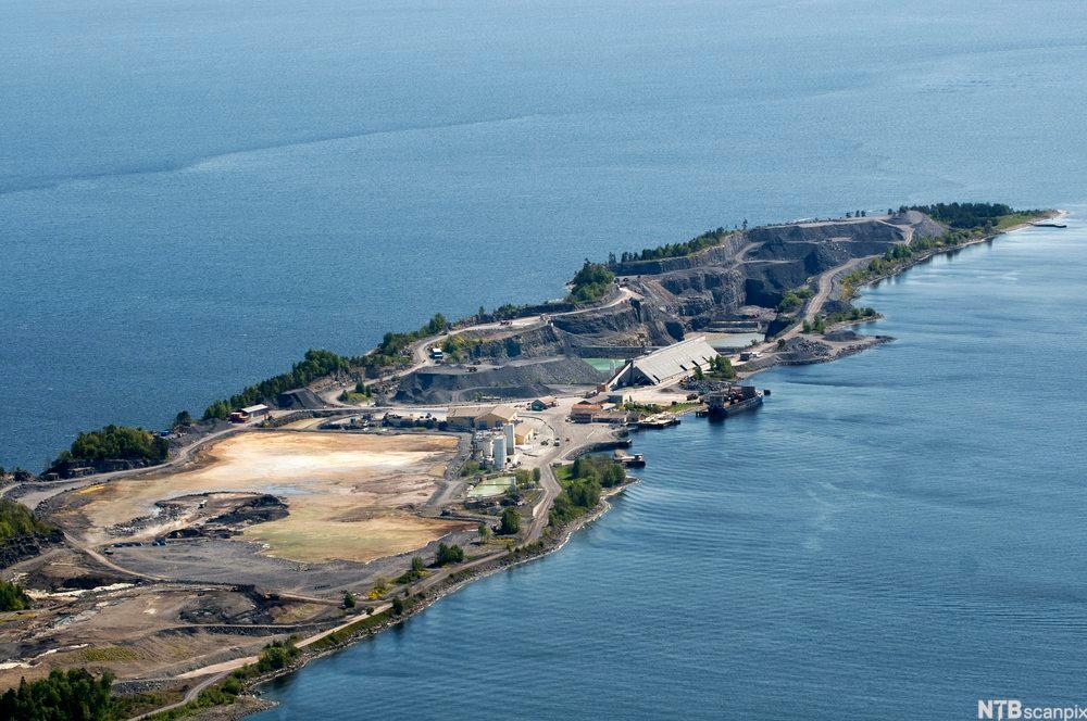 Oppbevaring av farlig avfall på Langøya