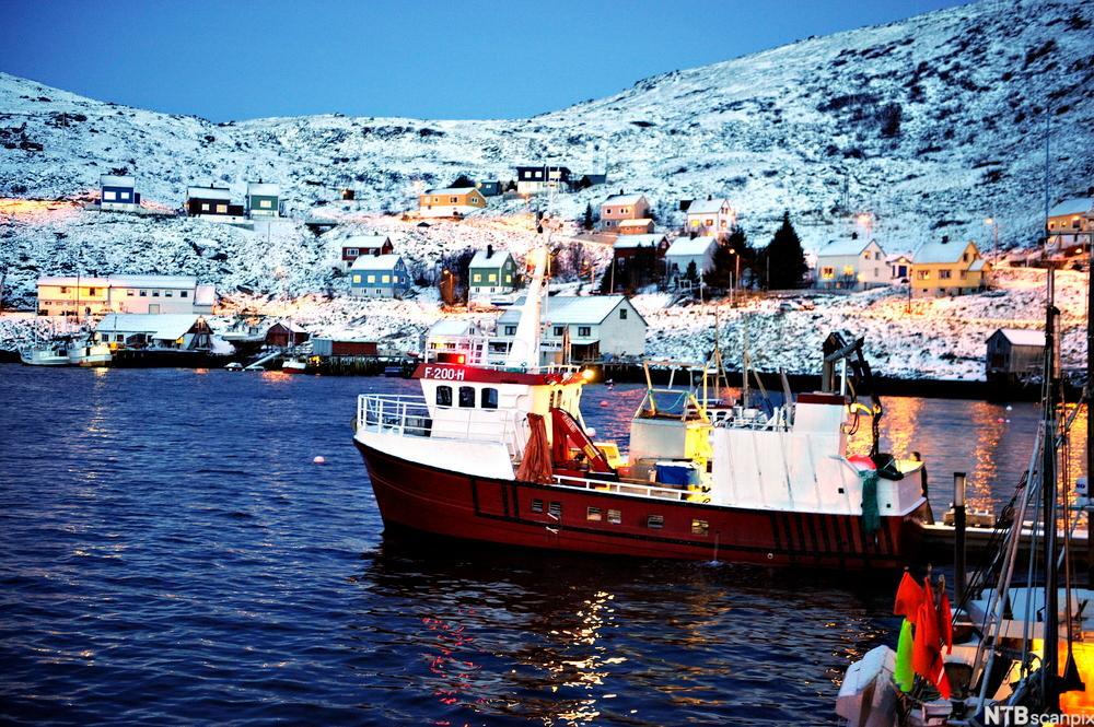 Akkarfjord, Finnmark. Foto.