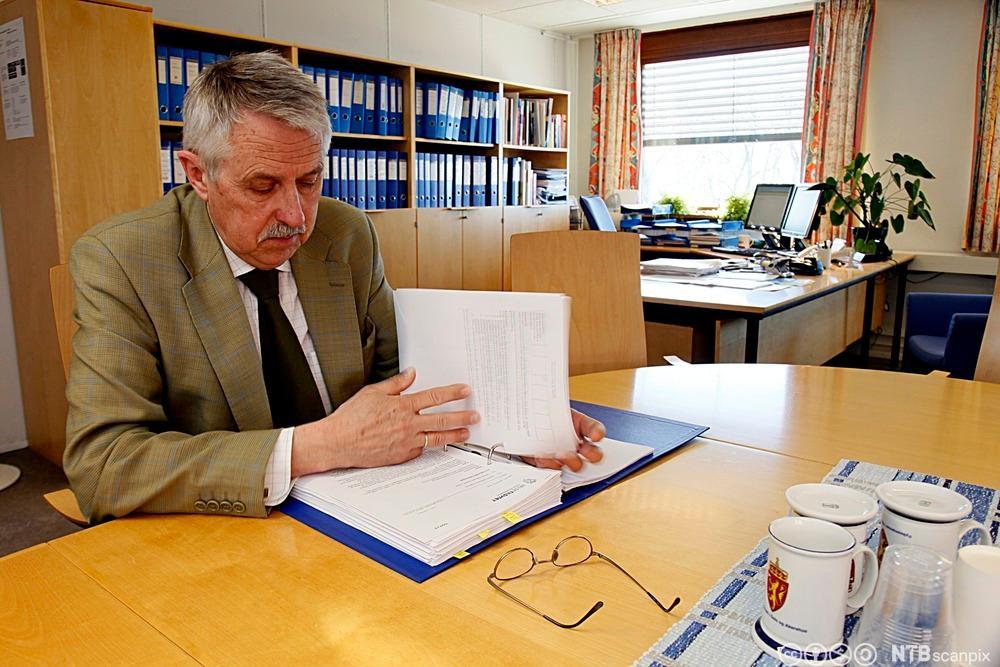 Petter Schou er fylkeslege i Oslo og Akershus. Foto.