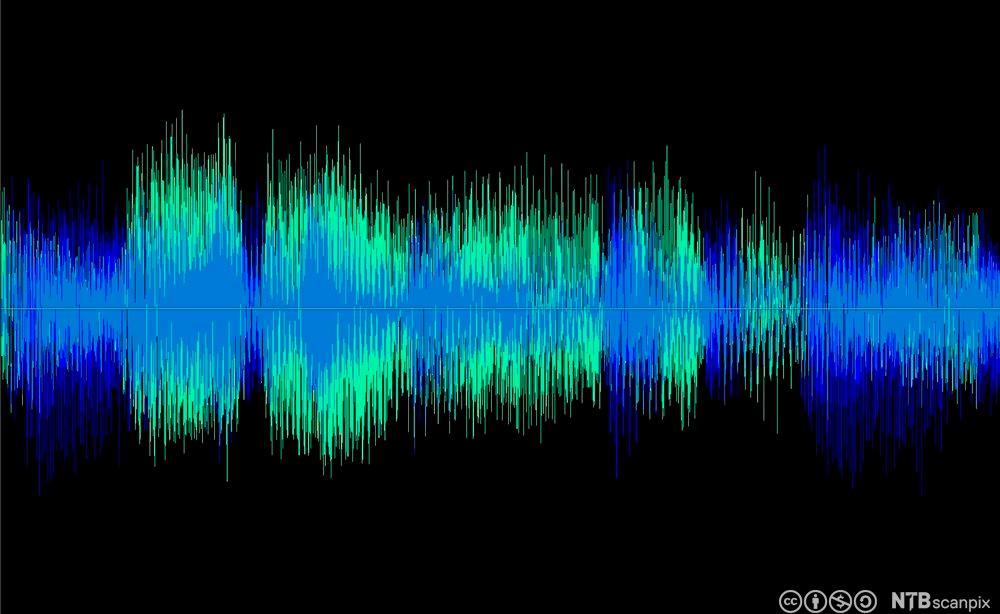 Lydbølger. Foto.