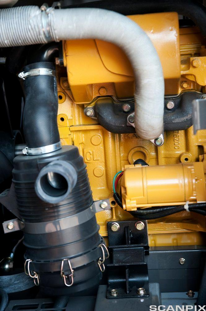 Luftkompressorrør foto.