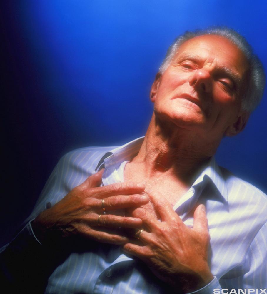 Respirasjonsbesvær. Foto.