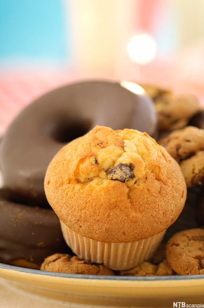 Bilde av en muffins. Foto