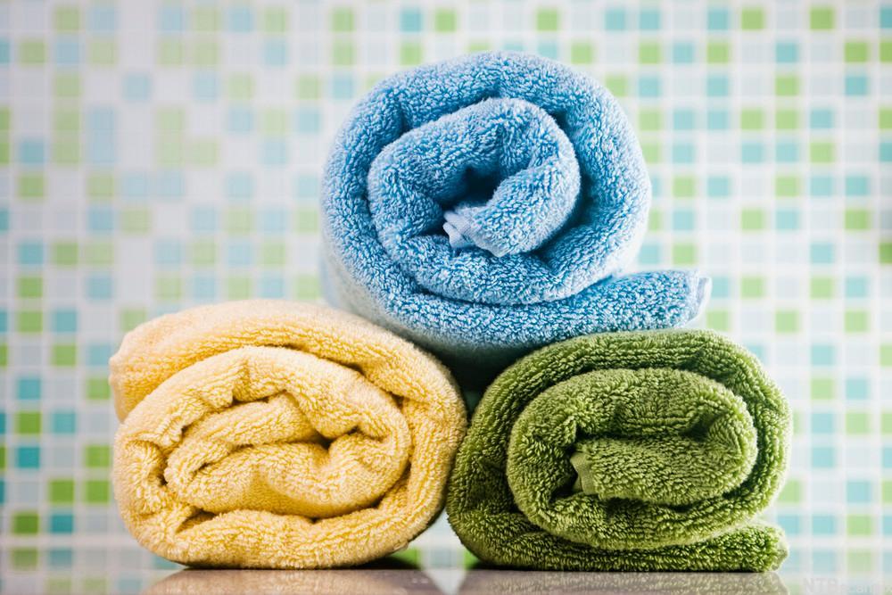 Håndklær. Foto.
