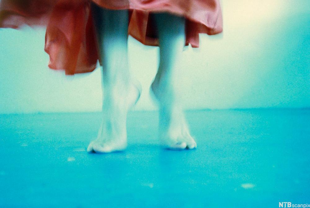 Danserinne. Foto.