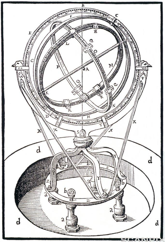 The zodiacal armilary instrument
