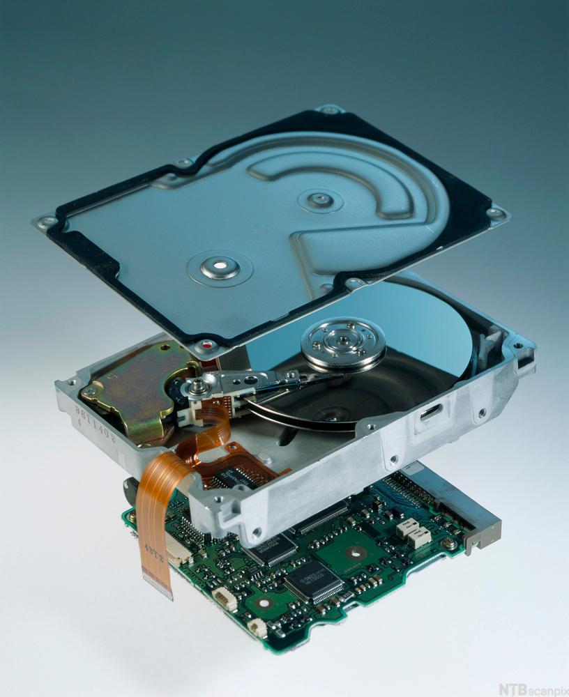 Bilde av harddisk