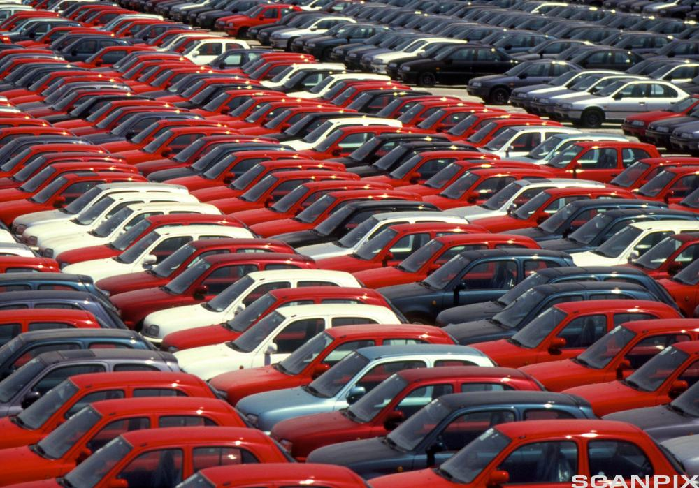 Importerte biler. Foto.
