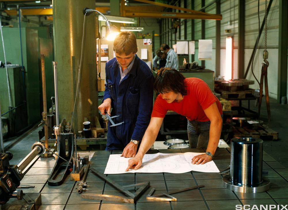 Det er viktig å vite hva som skjer i en produksjon - fra råstoff til ferdigprodukt.