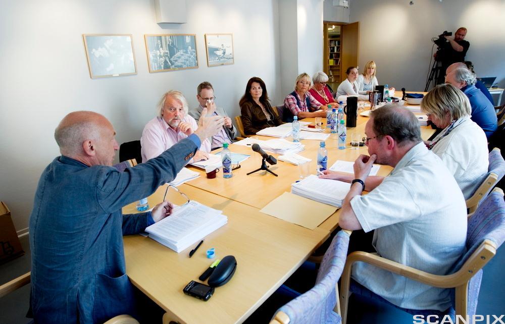 Møte i Pressens faglige utvalg