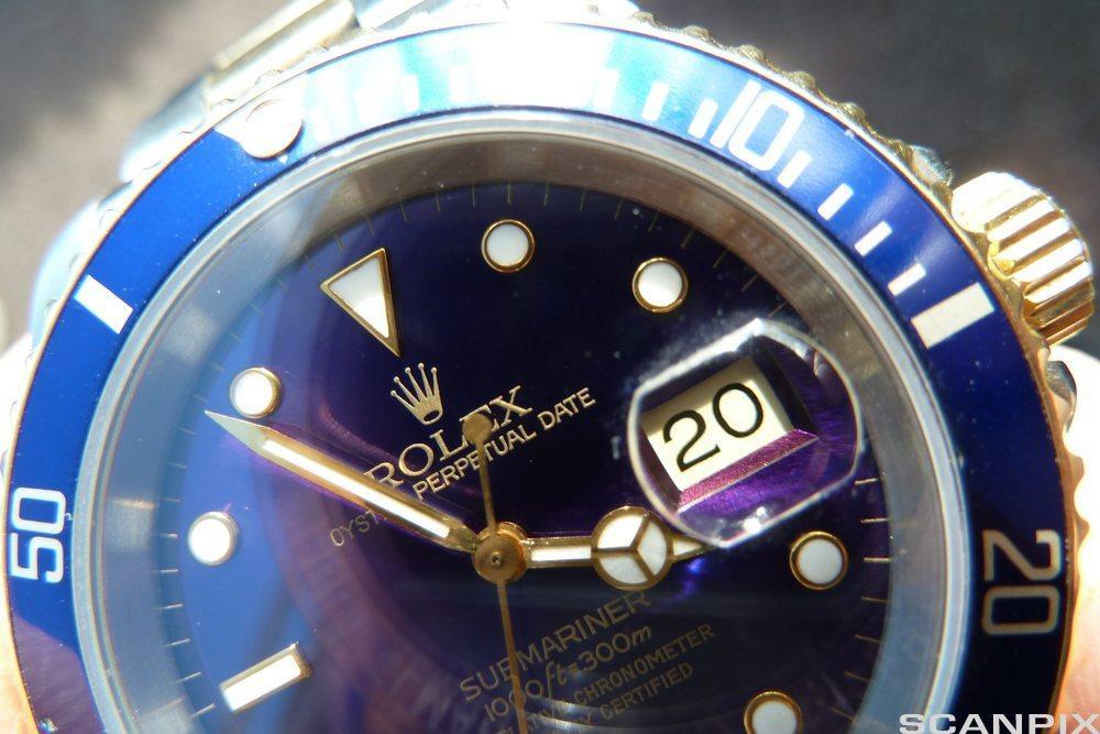 Rolex Submariner-klokke. Foto.