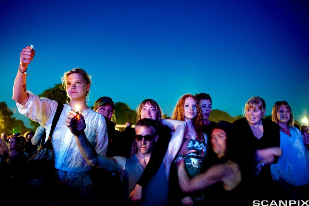 Roskildefestivalen. Fotografi.