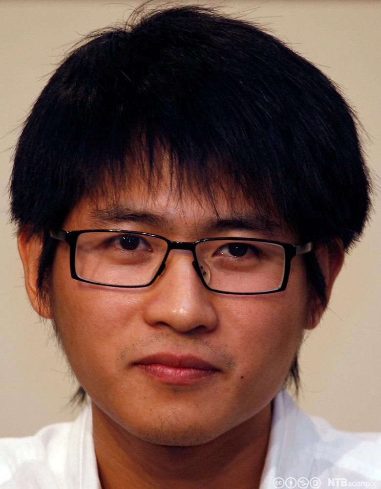Kinesisk blogger Han Han. Foto.