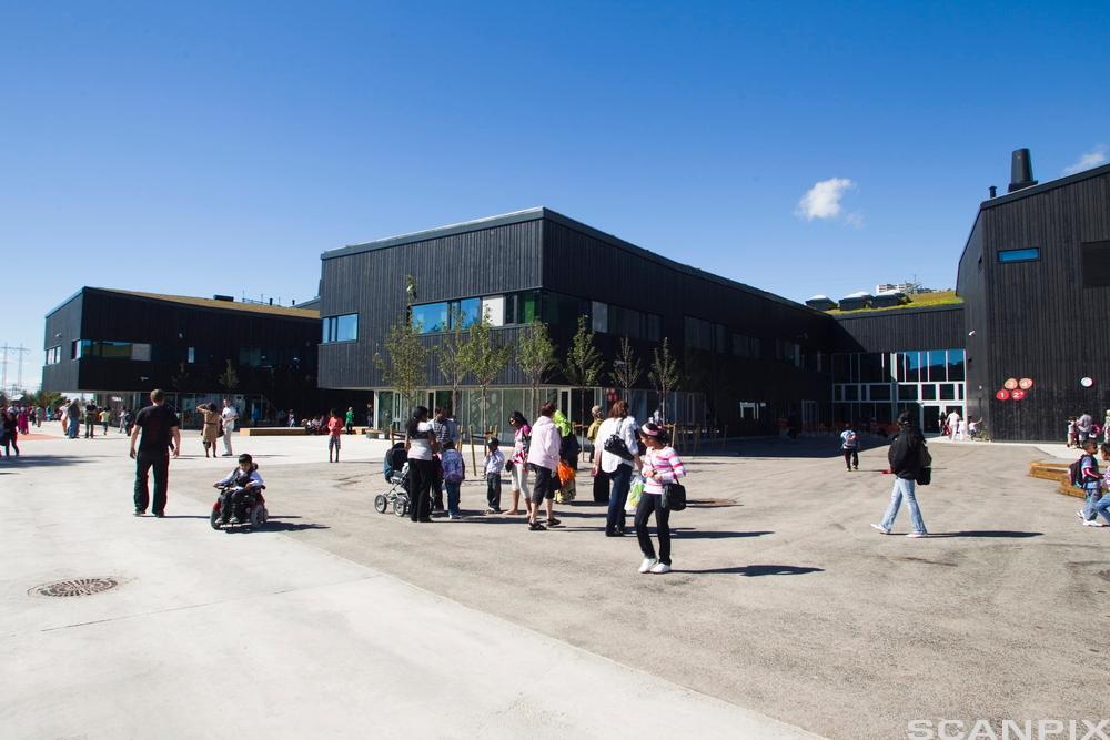 Rommen skole. Foto.
