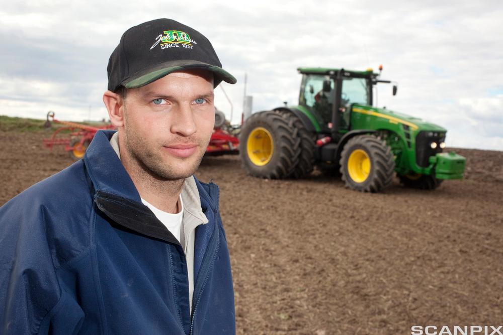 Bilde av en svensk bonde.