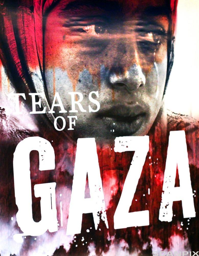 Filmplakat Gazas tårer. Foto.