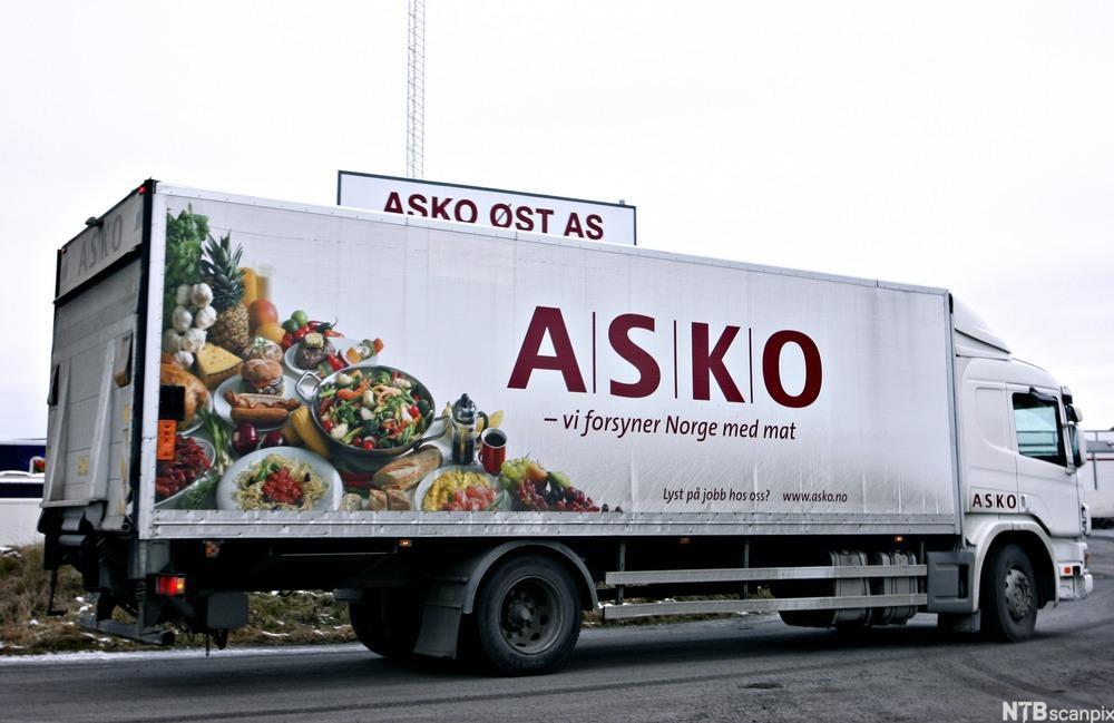 Lastebil fra Asko