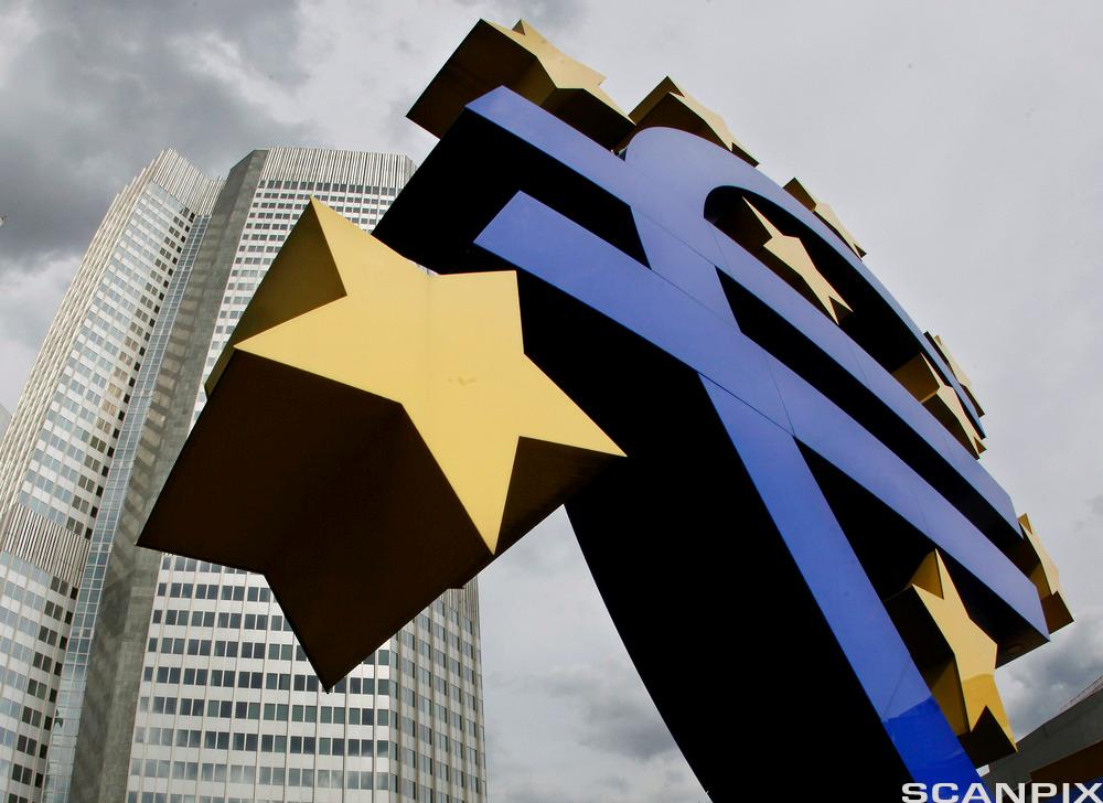 Euro-skulpturen i Frankfurt