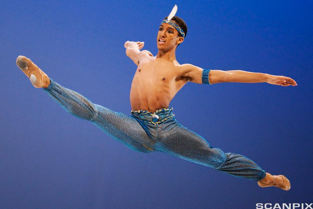 Ballettdanser. Foto.