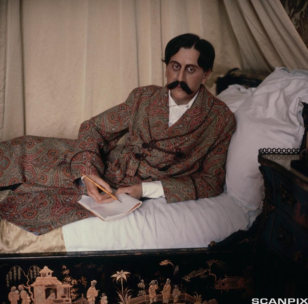 Portrett av forfattaren Marcel Proust