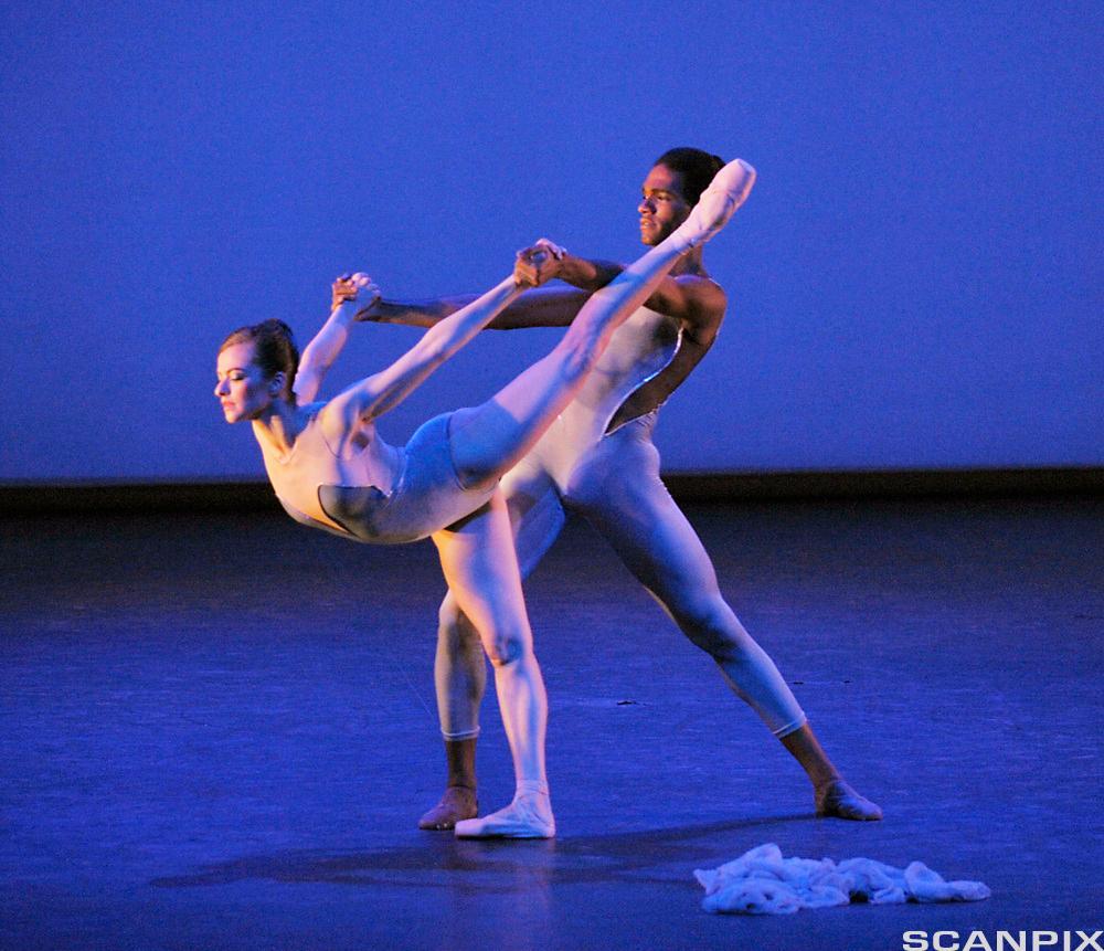 Ballettdansing. Foto.