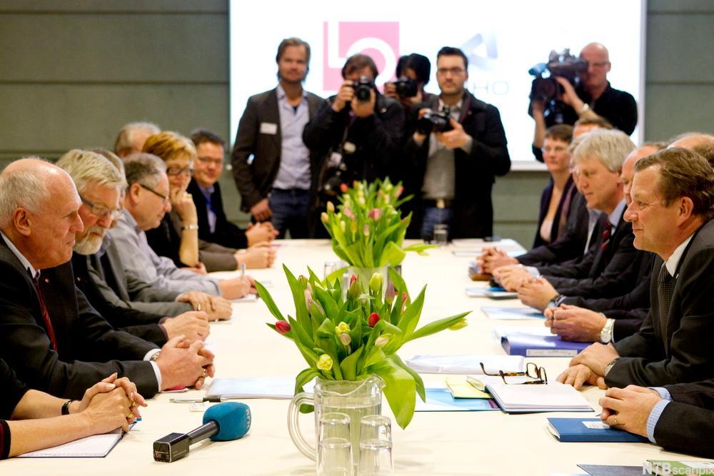 Partene i arbeidslivet kan inngå kollektive avtaler